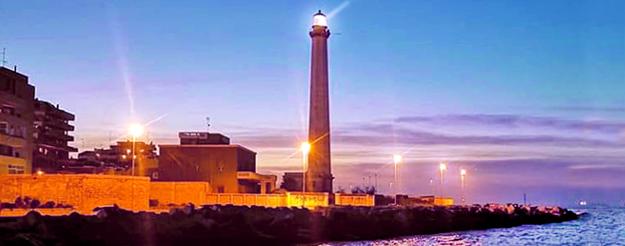 Lo storico Faro di Bari