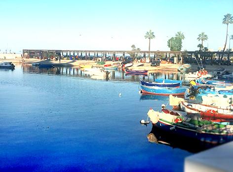 Molo San Nicola lungomare Bari