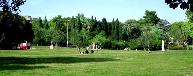 The largest park in Bari
