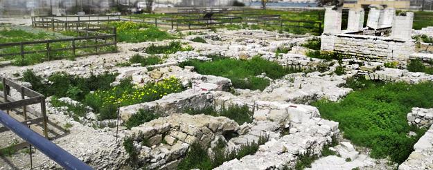 L' Area Archeologica a Bari Vecchia