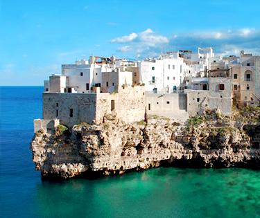 Vedere Polignano a Mare Puglia