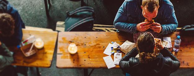 Street food sul lungomare