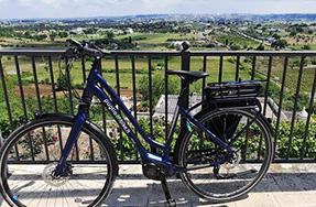 Noleggio bici rent bike Valle Puglia
