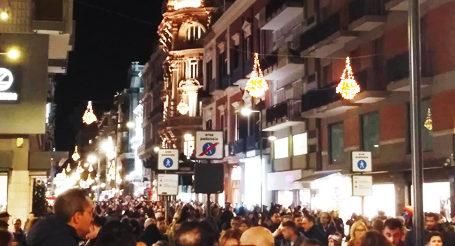 Cnetro di Bari a Natale
