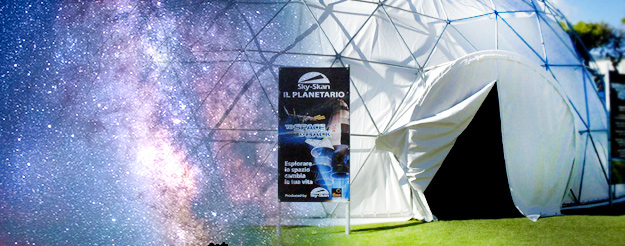 The Planetarium, a journey between stars and planets