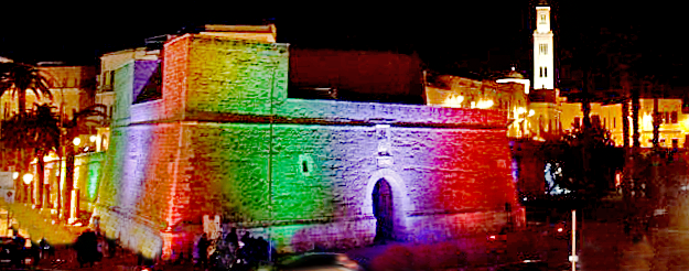 New face for the Wall of Bari Vecchia: lights and colors on the waterfront