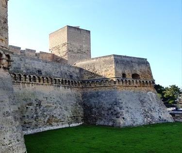 Castello Svevo apertura post covid