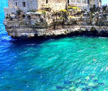 Mare spiagge Puglia Polignano