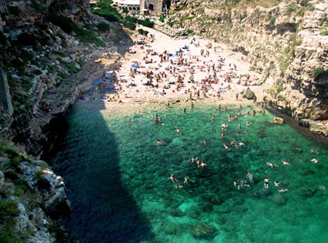 Mare Spiagge Puglia Polignano Lama Monachile