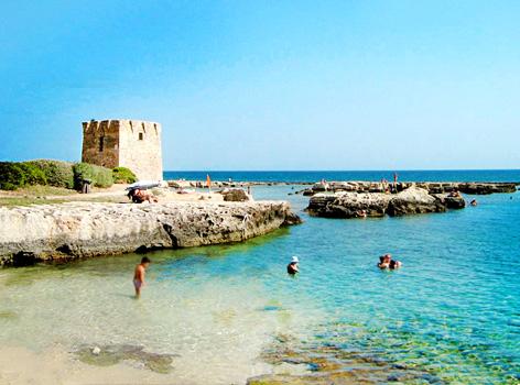 Spiaggia San Vito Polignano a Mare