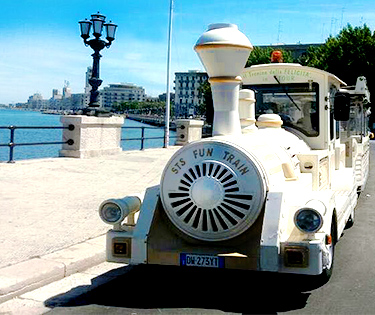 Trenino Bus turistico Bari Puglia