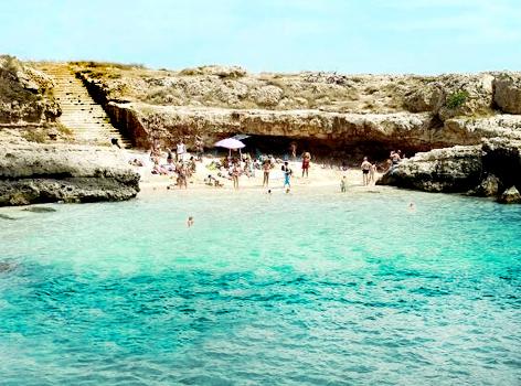Spiaggia mare Monopoli Puglia
