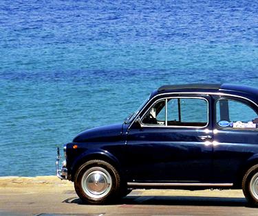 Fiat 500 tour Bari Puglia