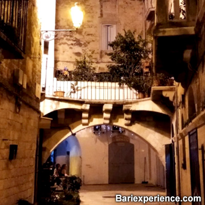 Foto vicoli Bari Vecchia