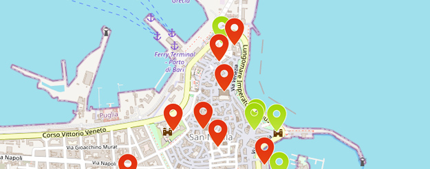 Mappa di Bari