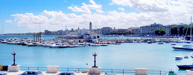 The best viewpoints to enjoy the Bari seafront