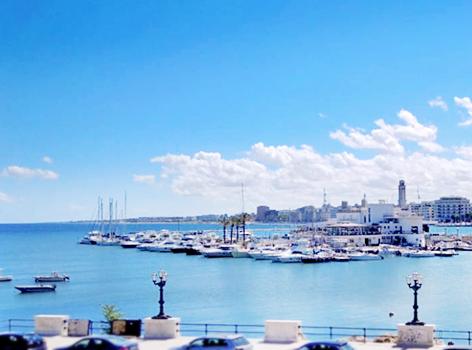 Belvedere lungomare di Bari