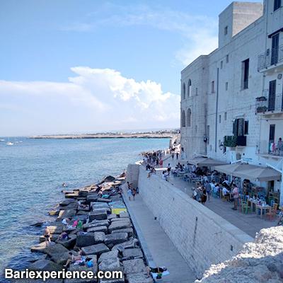 Muraglia mare Monopoli Puglia
