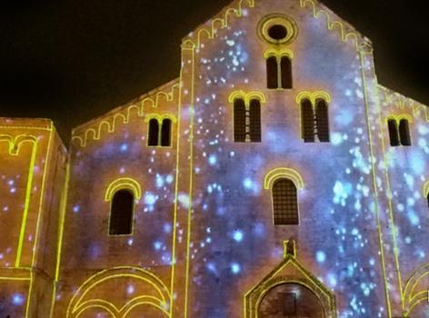 Luminarie Basilica San Nicola Bari
