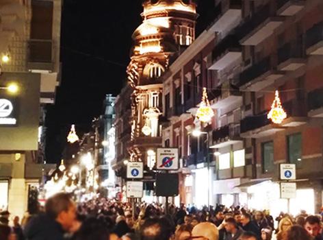 Bari Natale in via Sparano
