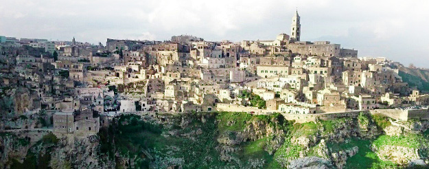 The evocative Sassi of Matera