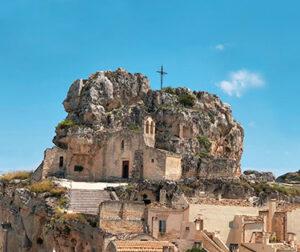 Sassi di Matera vicino Bari