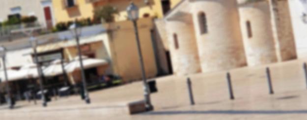 Historical squares of Bari