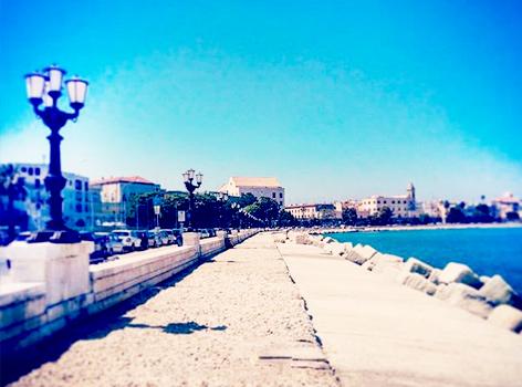 Lungomare di Bari foto
