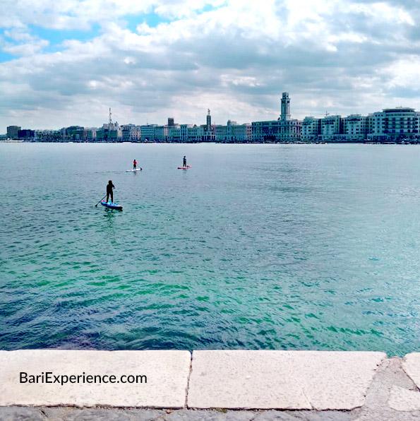 Belvedere del lungomare di Bari