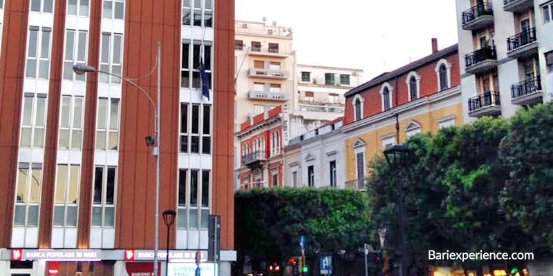 Palazzi storici Bari Corso Cavour