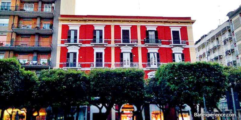 Palazzi antichi Bari Corso Cavour