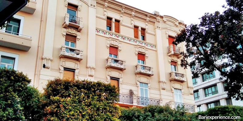 Stili architettonici Corso Cavour Bari