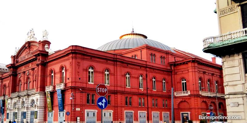 Teatro Petruzzelli Corso Cavour Bari