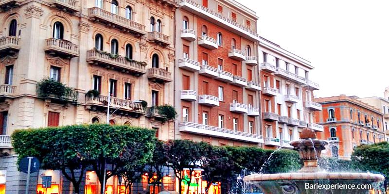 Corso Cavour vie storiche Bari Puglia