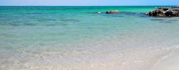 Una piccola spiaggia a Torre a Mare