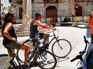 Tour bici street food Bari