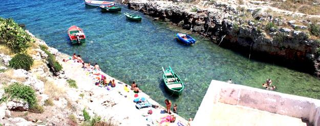 Un tuffo nel passato: Cala Port'Alga