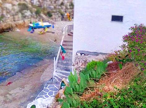 Caletta Portalga Polignano a Mare