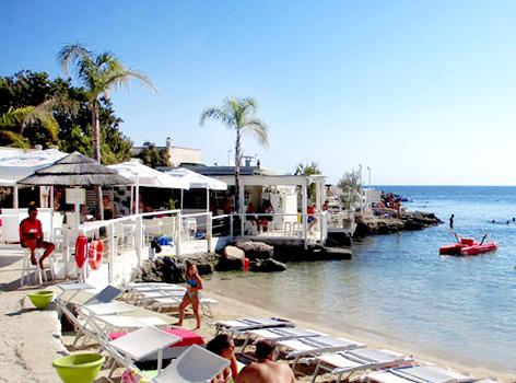 Spiagge mare vicino Bari Monopoli