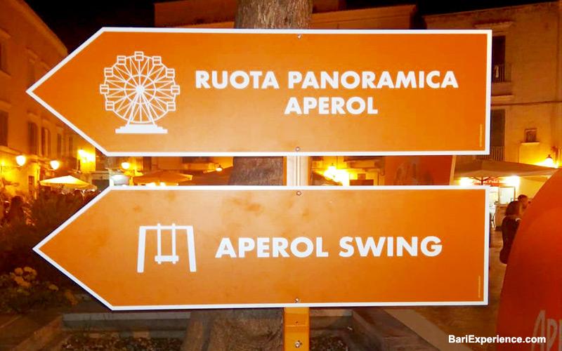 Evento Aperol Bari Puglia Italia
